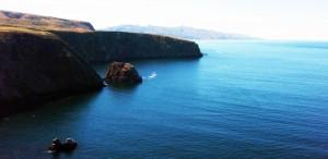 Santa Cruz Island coastline